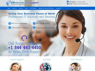 American IT Support [ WordPress ]