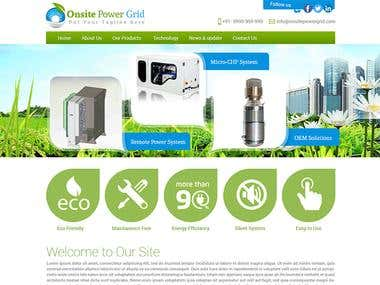 Onsite Power Grid