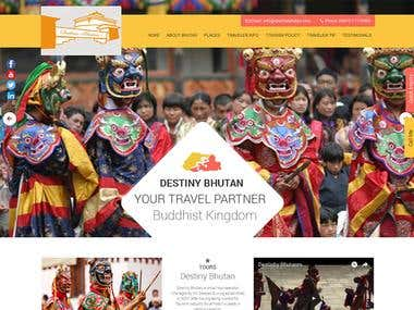 Destiny Bhutan [ WordPress ]