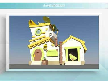 Game Assets Modeling And Rendering