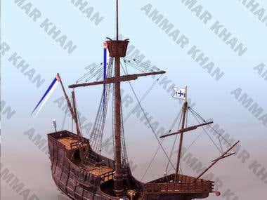 3D modeling of Ships