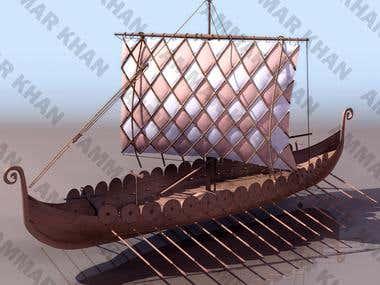 3D modeling of military Ships