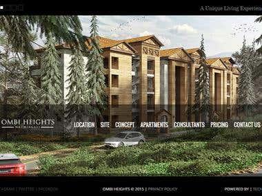 Ombi Height Web site
