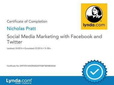 Lynda.com: Social Media Marketing With Facebook and Twitter