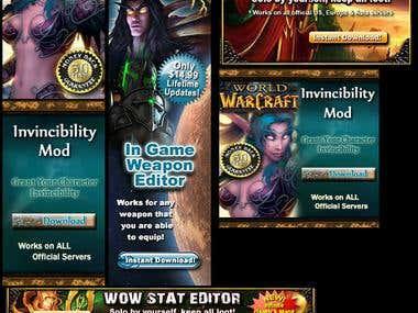 Gamming Banner Ads
