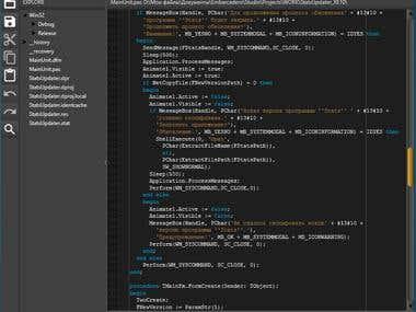 Cross platform Pascal Code editor