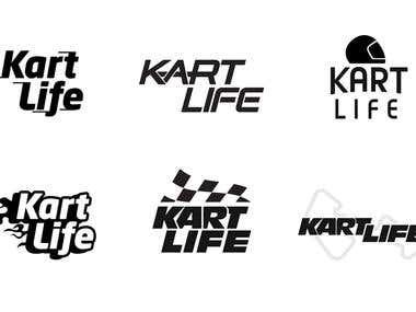 Kart Life Logo Designs