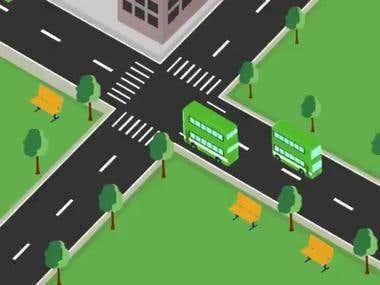 Flat Animation