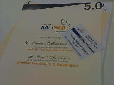 MySQL Certification 5.0