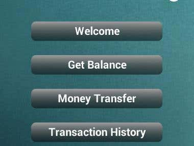 Online Banking Application Development in Android