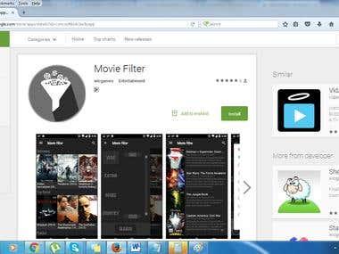 Movie Filter
