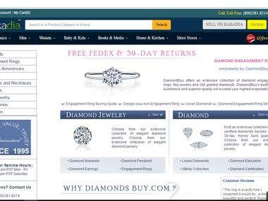 DiamondBuy Website - c# & SQL Devleoper