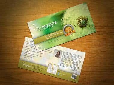 DL flyer for Nurture Naturopathy