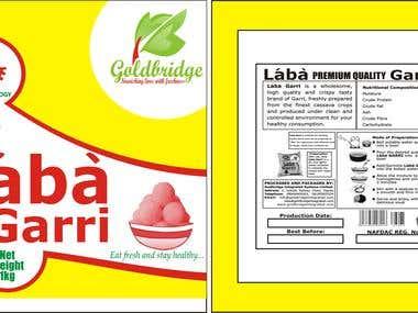 Satchet Food Branding