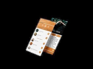 Nexto UI design
