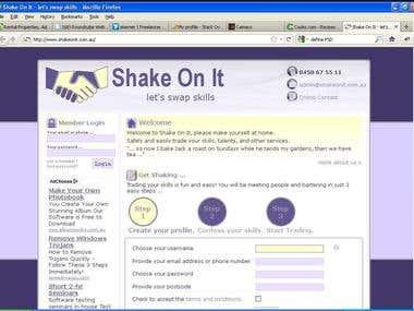 Shake On It · let's swap skills