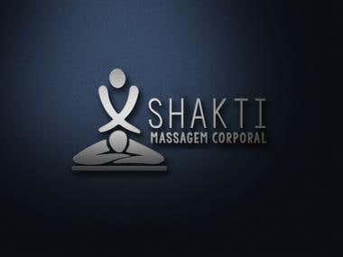Logo da Shakti massagem corporal