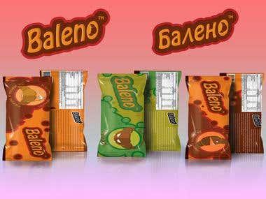 Baleno croissants brand design