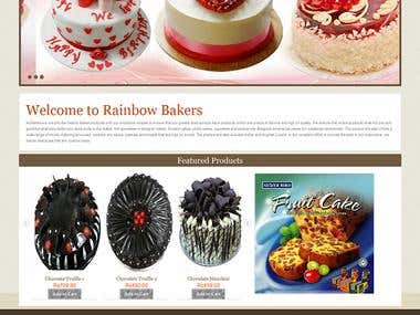 Bakery Webshop