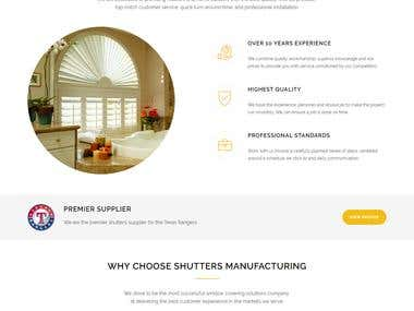 Shutters Manufacturing