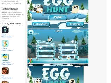 Iphone Game :- Egg-Hunt