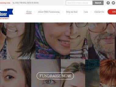 Crowdfunding Website using wordpress