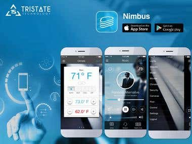 Nimbuss Lifestyle Android & iOS App
