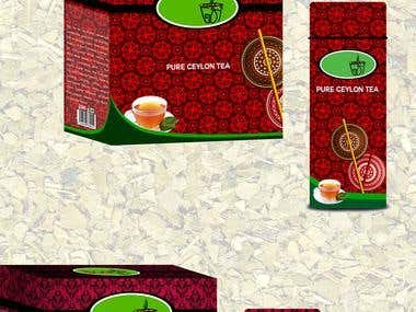 Tea Packaging and Logo Designs