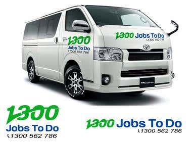 1300 jobs to do Concept