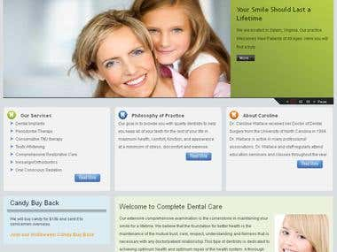 Complete Dental Care Site