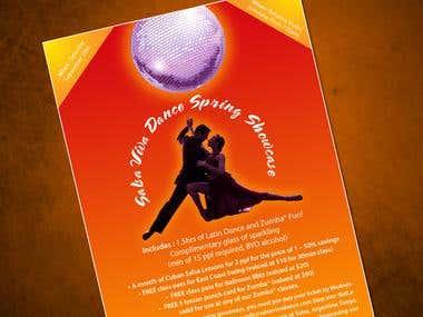 Salsa Viva Dance Spring Showcase