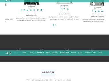 WordPress Theme Work