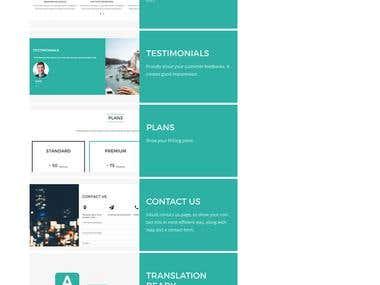 WordPress theme customize work