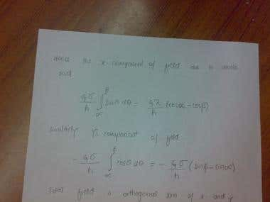 Mechanics maths problem
