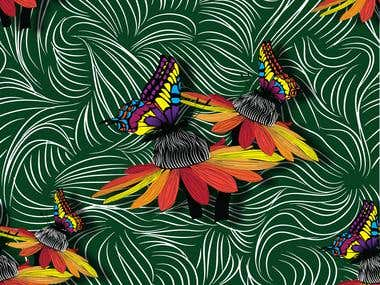 Fabric pattern 2