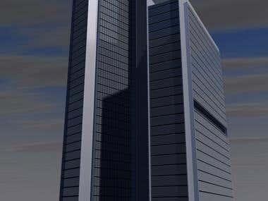 Skyscraper at Cluj-Napoca