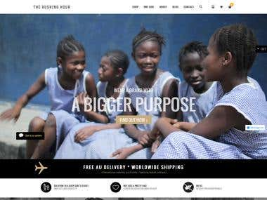 Shopify Brooklyn theme customization