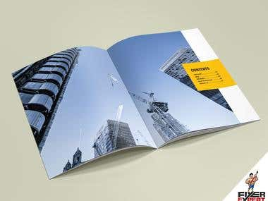 I can design 8 X A4 pages Brochure design for your company.