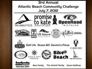 t-shirt sponsors logo design