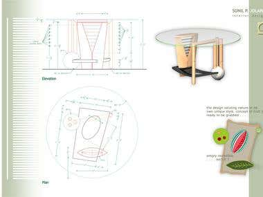 Dining Table Desing