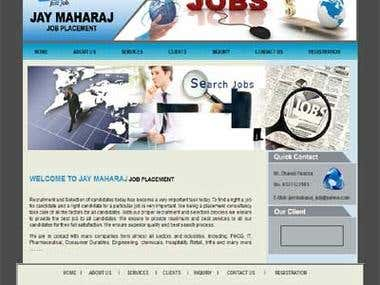 Job Placement Portal. CMS Joomla 2.5
