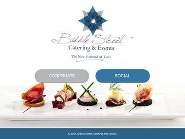 Website for Catering