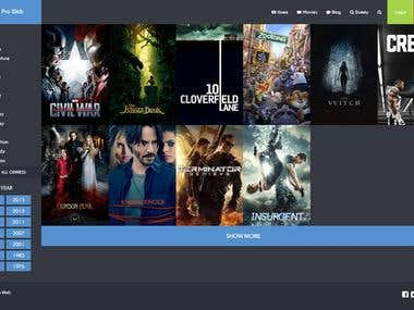 Movie DB Website using Laravel 5.2