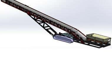 Track Mounted Conveyor