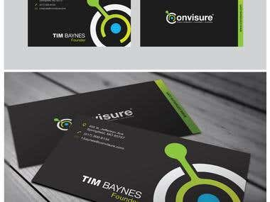 Convisure Logo and Business Card