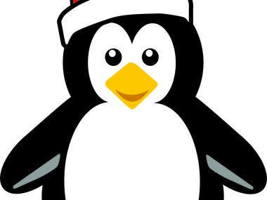 Penguin Vector cutout