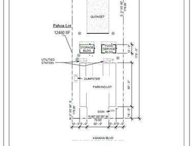 Revit Site Plan Example