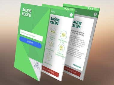 Healthcare App Mockup