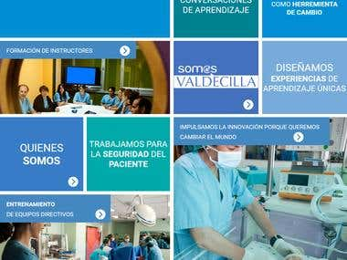 Hospital : HTML , Web Design , PHP