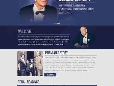 Jeremiah - Wordpress
